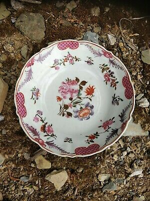 £35 • Buy Chinese Porcelain Tea Bowl Saucer Only Famille Rose Circa 1790 Perfect