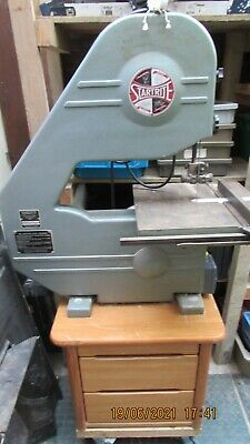 £295 • Buy Startrite Bandsaw - Three Wheel Type With Single Phase Motor, 95  Blade & Fence