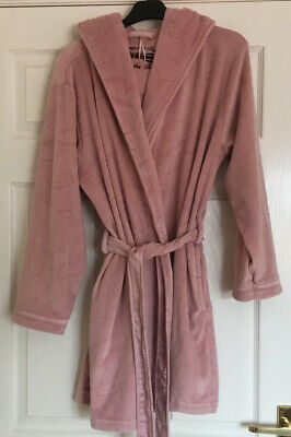 £9.99 • Buy Gorgeous TED BAKER  Pink Hooded Dressing Gown, Size 8-10