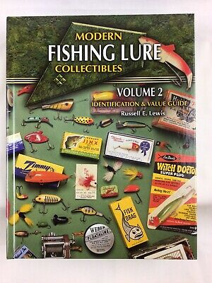 £10.78 • Buy Modern Fishing Lure Collectibles Volume 2 By Russell E. Lewis 2003 Hardcover