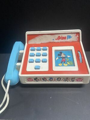 £11.49 • Buy Romper Room MICKEY MOUSE TALKING PHONE Vintage Toy Tested And Not Working.