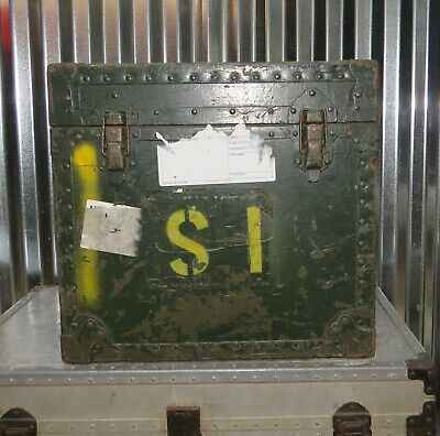 $150 • Buy US Military Typewriter Transport Storage Shipping Container Field Case Box LD