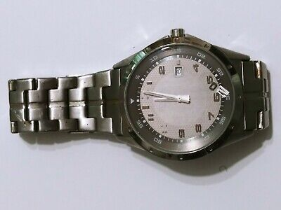 $12.98 • Buy Fossil Wristwatch Watch Parts As Is, Part No 6,418,706 B1 Stainless Steel