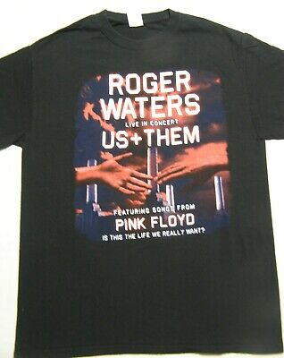 £17.97 • Buy Roger Waters Live Us And Them Concert Tour 2017 T-Shirt Black Men's Size M