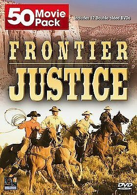 £10.13 • Buy Frontier Justice 50 Movie Pack 12 Double Sided DVD Western Roy Rogers Gene Autry