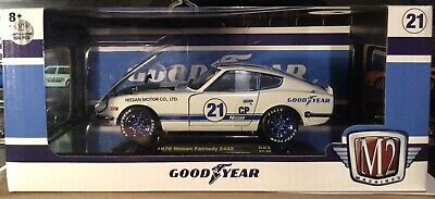 $40 • Buy M2 Machines Scale 1:24 1970 Nissan Fairlady Z432 Chase 500 Piece
