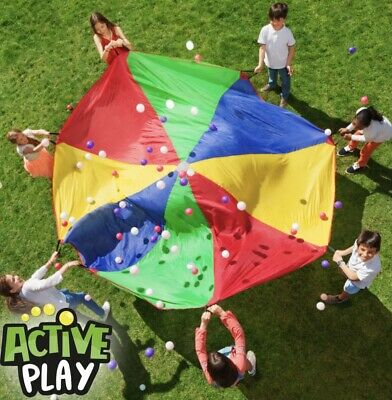 £13.75 • Buy Active Play Giant Parachute 10ft In Diameter Great Summer Fun  3+ Years