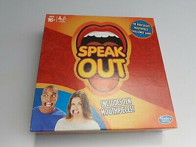 £2.50 • Buy Hasbro Speak Out Party Board Game, Mouth Pieces Still Sealed In Packaging