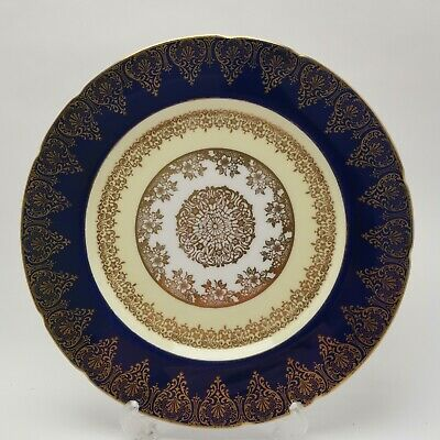 £24.95 • Buy Paragon China By Royal Appointment Cobalt Blue & Gold 10  Plate