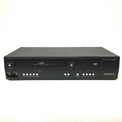 £57.94 • Buy Magnavox DV220MW9 DVD / VCR VHS 4 Head Combo Tested Works No Remote Black