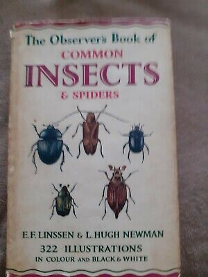 £8.99 • Buy Observer's Book Of Insects And Spiders 1956