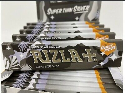 £4.20 • Buy Rizla Camouflage Limited Edition - King Size Silver Rolling Papers (4 Booklets)
