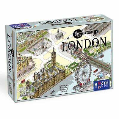 £29.99 • Buy Key To The City - London Board Game By Huch & Friends - New In Shrink