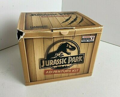 £45 • Buy Jurassic Park Adventure Kit Doctor Collector With Replica Dinosaur Claw & Cap