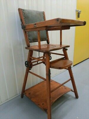 £150 • Buy Antique Metamorphic Childrens High Play Chair C19 Great Restoration Project