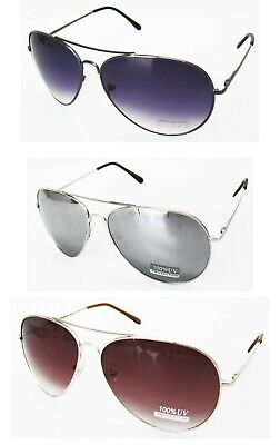 AU24 • Buy 6 Pairs Brand New Aviator Sunglasses Wholesale Sale/Assorted Color/Spring Arm