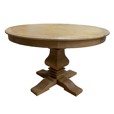 AU2099 • Buy French Provincial Classic Elm Extendable Round Pedestal Dining Table