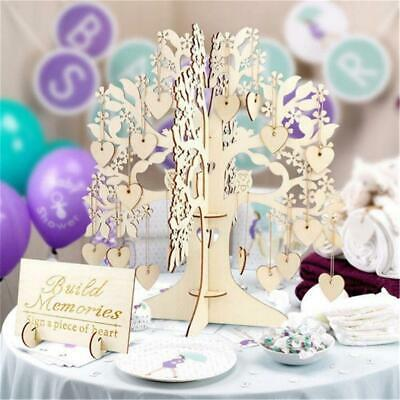 £10.60 • Buy Gloden  Wishing Tree Ornament For Wedding Reception Guest Sign Name