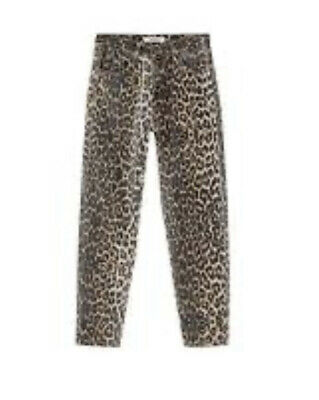 AU35 • Buy Pull And Bear Leopard Mom Jeans Size 24 (6-8)
