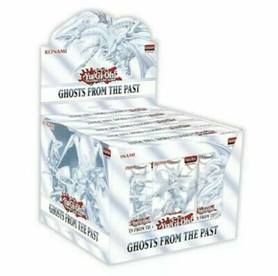 £64.99 • Buy YuGiOh Ghosts From The Past 1st Edition Display Case 5 Mini Boxes NOT SEALED