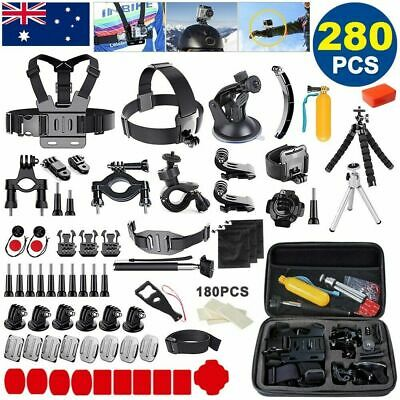AU42.99 • Buy GOPRO Accessories Pack Chest Head Monopod Float Mount For GoPro Hero 9 8 7 6 5