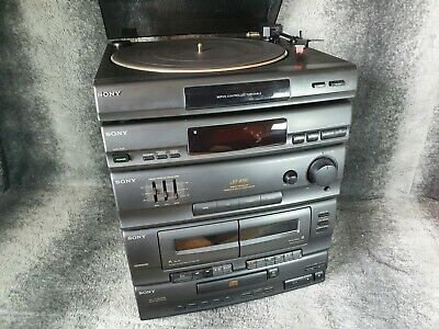 £89.99 • Buy Vintage Sony LBT-A190 Stereo HiFi System, Turntable, CD, Tuner, FAULTY CASSETTE