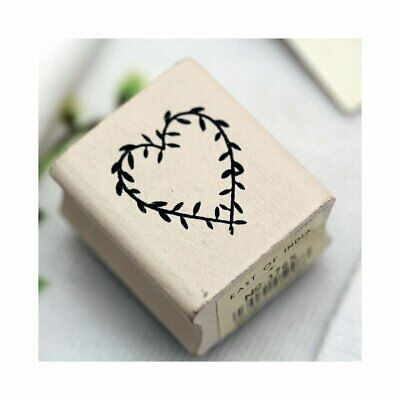 £2.99 • Buy East Of India RUBBER STAMP HEART #3765