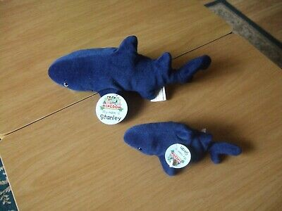£1 • Buy My Animal Kingdom Stanley And Sean Shark With Tags Issued In 2005 Very Gd Con