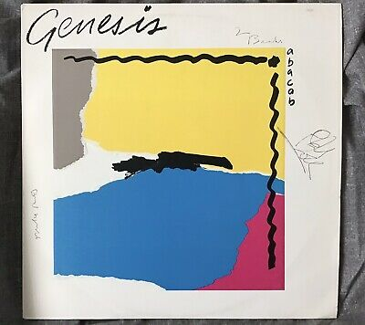 £80 • Buy Genesis Abacab Vinyl Album SIGNED By Collins,Rutherford And Banks