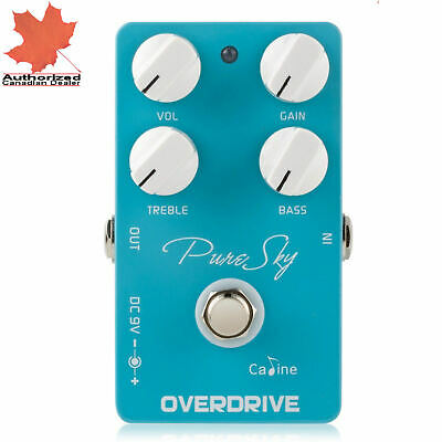 $ CDN37.10 • Buy Caline CP-12 Pure Sky Overdrive Guitar Pedal High Pure And Clean Overdrive CE