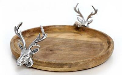 £28.95 • Buy Wooden Cake Stand With Reindeer