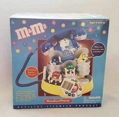 $75 • Buy M&M's Studio Animated Talking Telephone By Polyconcept NEW In Box!