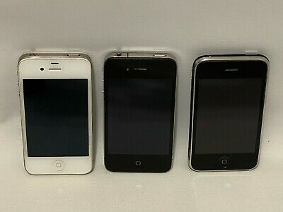 $ CDN37.70 • Buy Lot Of (3) Apple IPhones A1349 A1332 & A1303 IPhone White & Black Untested