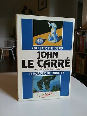 £7.31 • Buy JOHN LE CARRE Call For The Dead & A Murder Of Quality 2 In 1 HCDJ BCE 1960s
