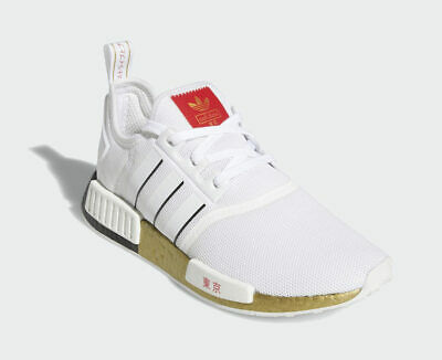 $ CDN123.85 • Buy Adidas Originals NMD R1 TOKYO Gold White Black Red FY1159 Running Shoes Olympics