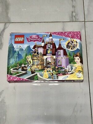 £35 • Buy Lego Disney Princess Belle's Enchanted Castle 41067 Complete With Box & Manuals