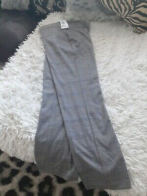 £3 • Buy Ladies Trousers Mark's & Spencers Smart Size 8. New Dogtooth Check. Secretary.