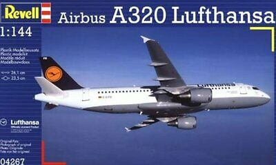 £29.95 • Buy Revell 04267 Airbus A320 Lufthansa 1/144 Scale Commercial Airliner Model Kit