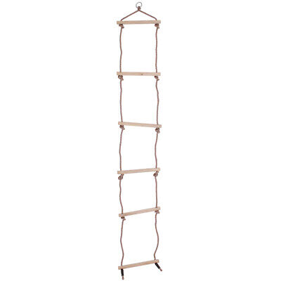 £15.49 • Buy Bigjigs Toys Children's Rope Ladder Outdoor Climbing Frame Tree House Play