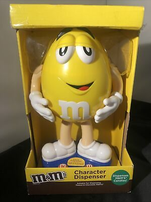 $33.40 • Buy Rare 11' M&M's M&M Character Dispenser Limited Yellow Character In Box (empty)