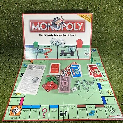 £15.99 • Buy Monopoly Classic - 2003 - Family Board Game - Hasbro Parker - 100% Complete USED