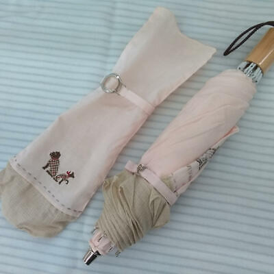 £83.48 • Buy BURBERRY Folding Umbrella White Color Accessory From Japan Used