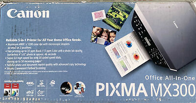 AU112.01 • Buy Canon PIXMA MX300 All-In-One Home Office Printer Scanner Copier Fax And Photo