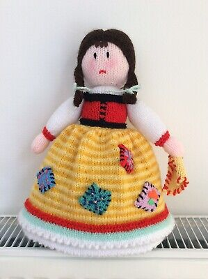 """£24.99 • Buy Hand Knitted Doll / Toy   Topsy Turvy  . Approx 12"""" Tall. NEW."""