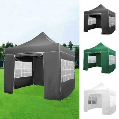 £125.99 • Buy 3x3M Pop-up Gazebo With Sides Marquee Canopy Outdoor BBQ Party Tent Waterproof