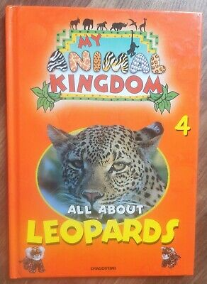 £3.95 • Buy My Animal Kingdom 4 All About Leopards Kids Childrens Book Learning Fun Facts