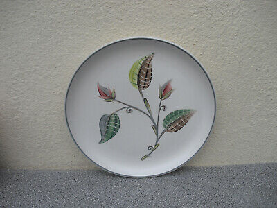 £6.50 • Buy Denby Glyn Colledge Early Albert Colledge Leaves Side Plate 1950s Stoneware