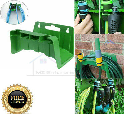 £6.95 • Buy Garden Hose Pipe Hanger Wall Mounted Cable Tidy Storage Shed Hose Reel Holder UK