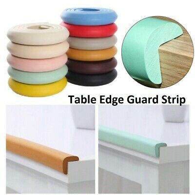 £5.99 • Buy Protection Foam Bumper Baby Safety Table Edge Desk Corner Protector Guard Strips