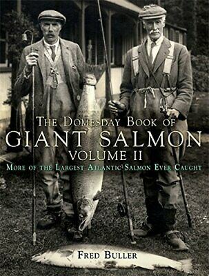 £18.58 • Buy DOMESDAY BOOK OF GIANT SALMON VOLUME 2. By Fred Buller - Hardcover **BRAND NEW**